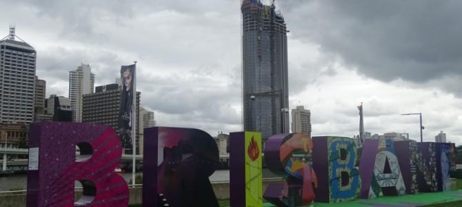 Unser Kampf mit dem Guana auf dem Weg nach Brisbane